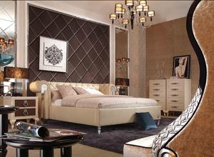 后现代豪华卧室