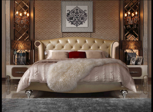 后现代华丽卧室